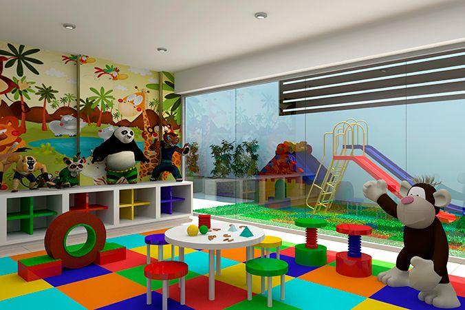 Sala de juegos en casa para ni os buscar con google for Casa infantil jardin