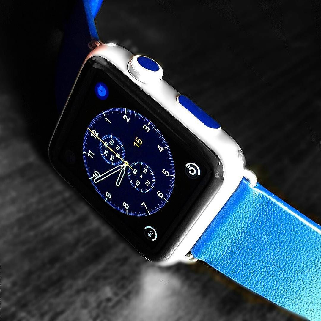 Navy Blue Set with navy blue leather Classic buckle band