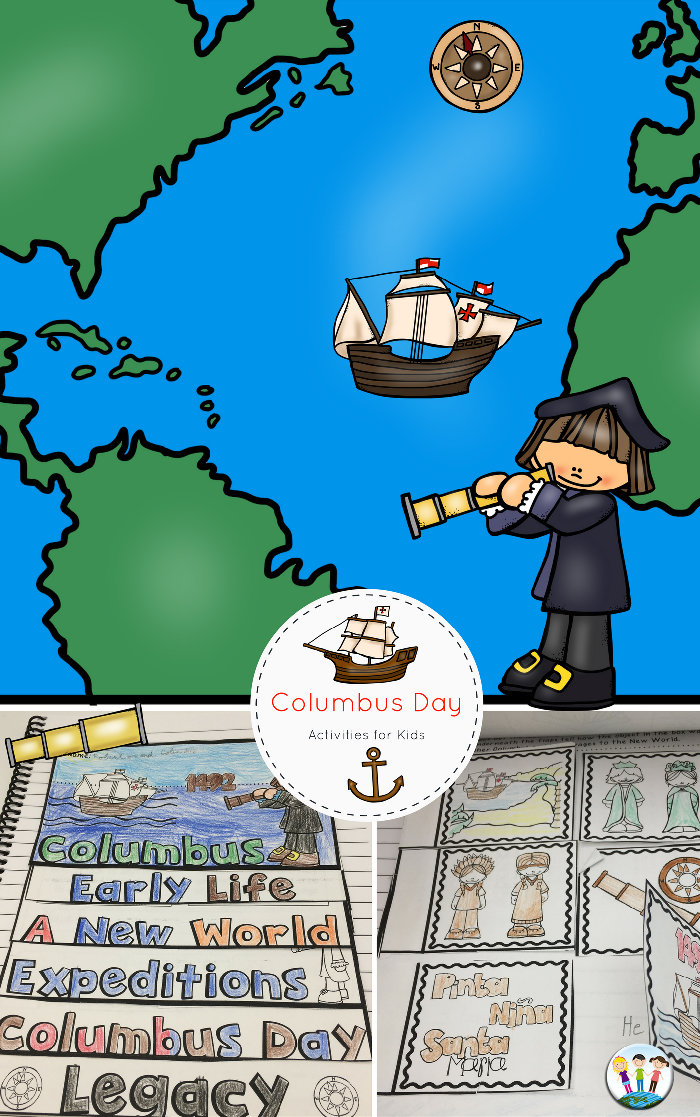Christopher Columbus Columbus Day Activities With