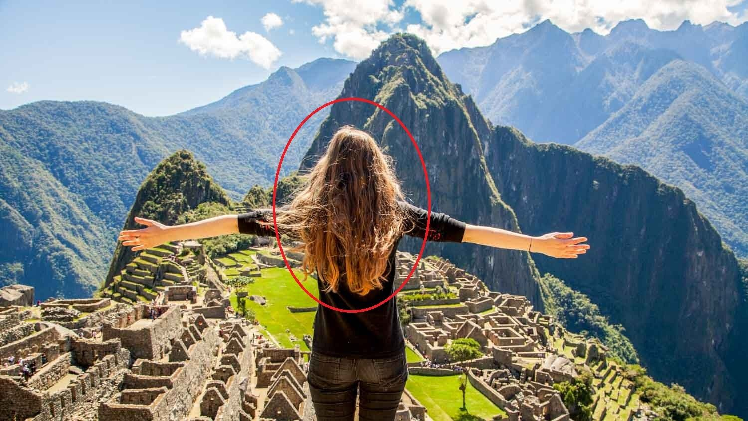See That What Happened With This Girl In Machu Picchu With My Galaxy Cool Places To Visit Places To Visit Picchu