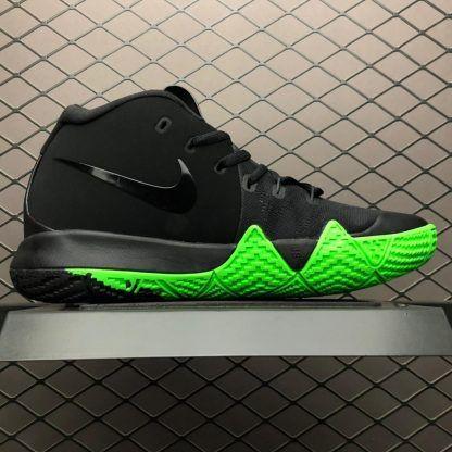 Men s Nike Kyrie 4 Halloween Black Rage Green 943806-012-3  09c2af43e