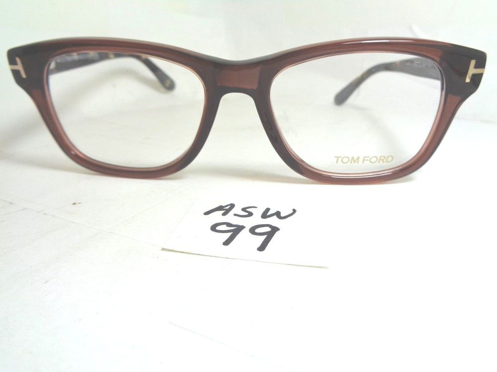 New TOM FORD Eyeglass Frame TF5147 050 Brown Italy (ASW-99) #TomFord ...