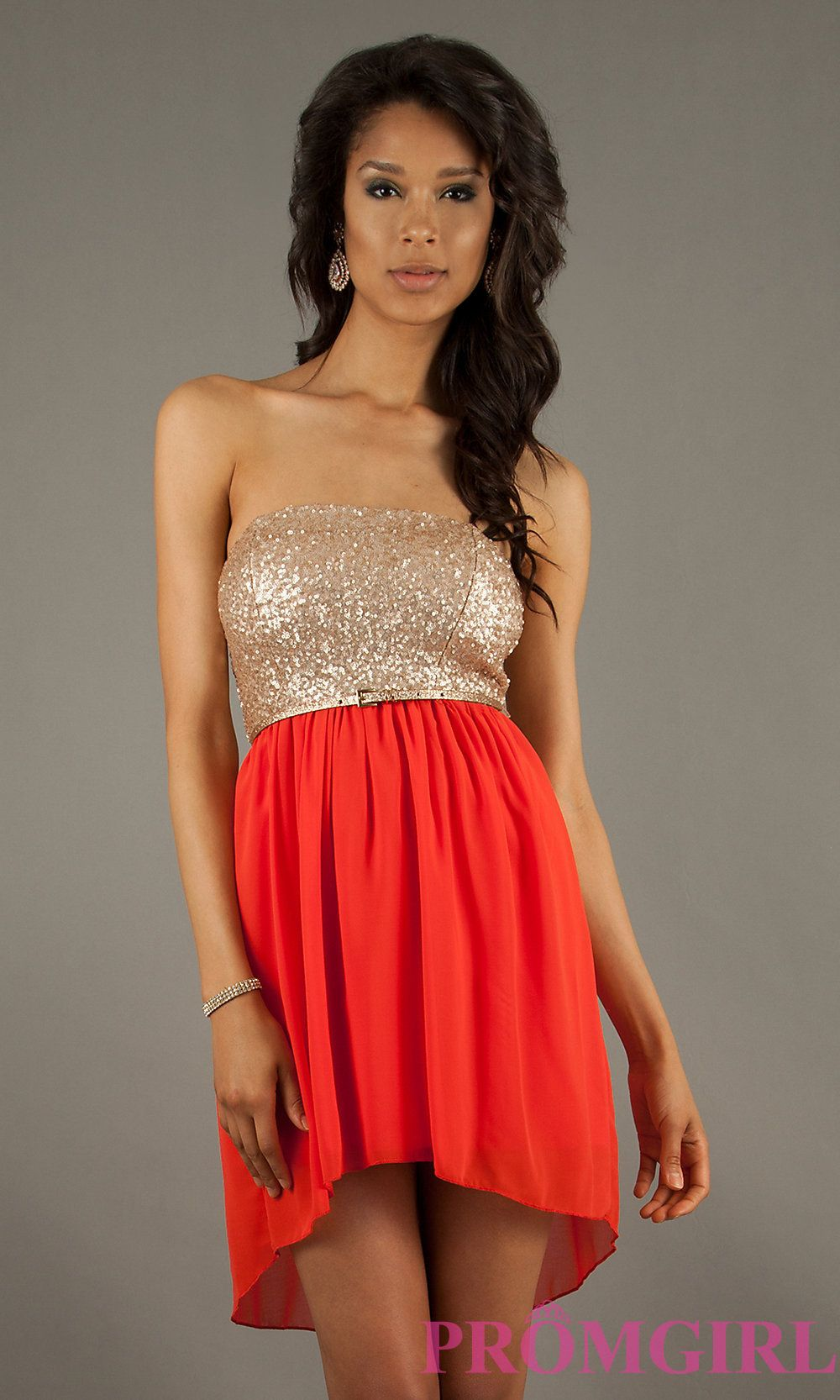 Short prom dress style ctdtb front image dress up