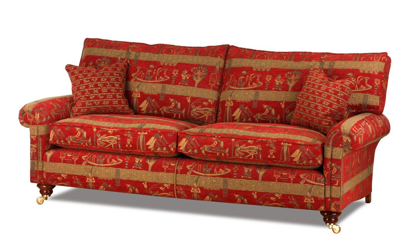 Die Hamilton Landhaus Couch im zeitlosen Design des englischen Country House Style. Eine Manufakturanfertigung original aus England.