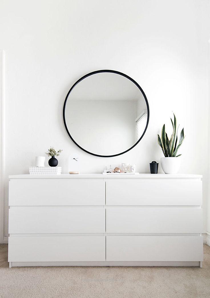 Ikea Malm Dresser In White Schlafzimmer Inspirationen