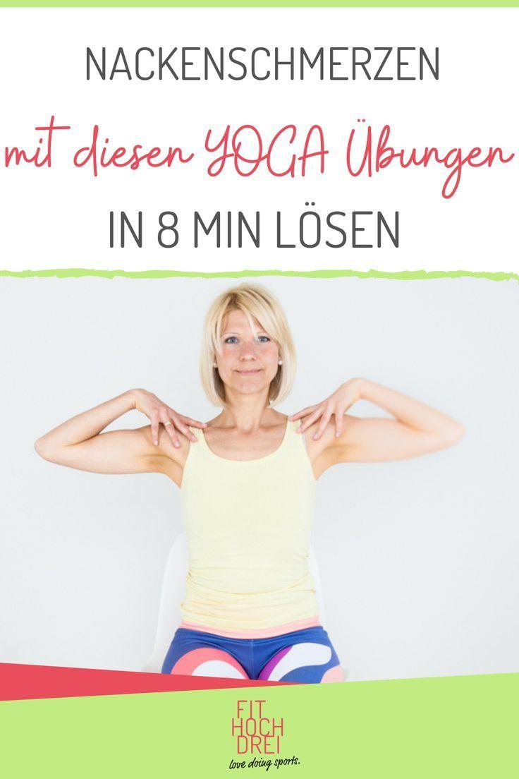 Dor de pescoço? Você pode fazer isso: alongamento, movimento, alívio. Meus exercícios de yoga   - Fi...