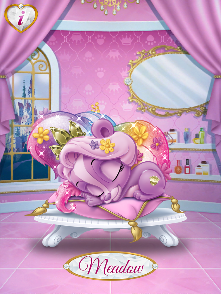 Princess Palace Pets Rapunzel Meadow Disney princess