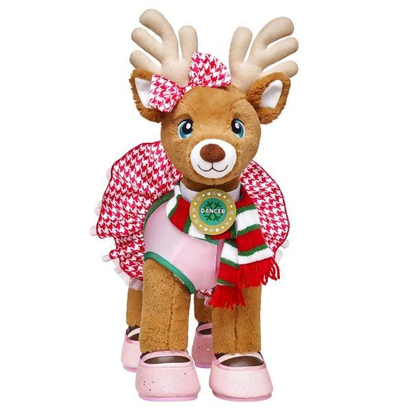 Santa S Reindeer Set Dancer Build A Bear Custom Teddy Bear Build A Bear Bear Stuffed Animal