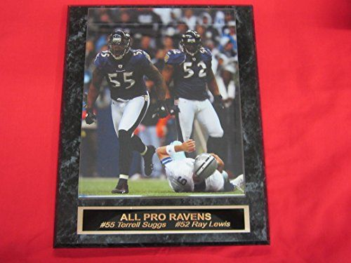 Terrell Suggs Baltimore Ravens Plaques