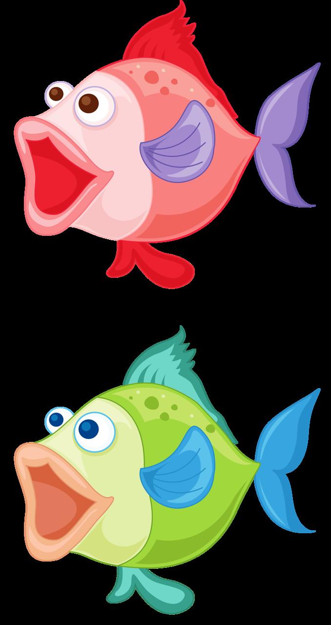 Смешные рыбки рисунки картинки