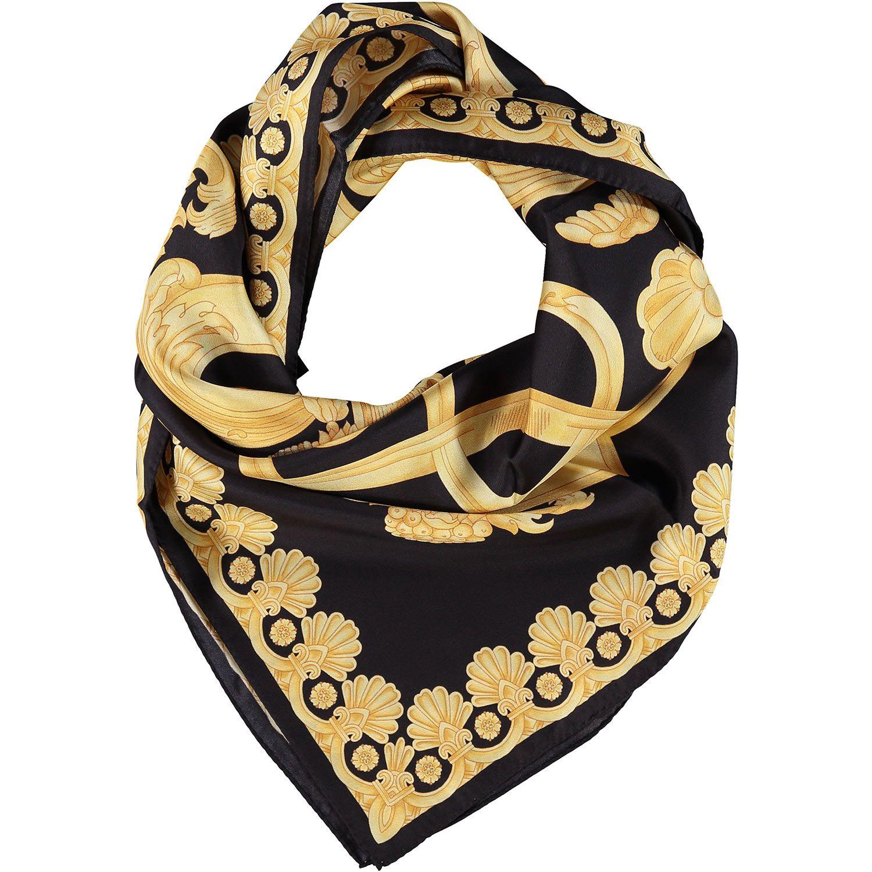 Versace black gold barocco print scarf tk maxx things id versace black gold barocco print scarf tk maxx reviewsmspy