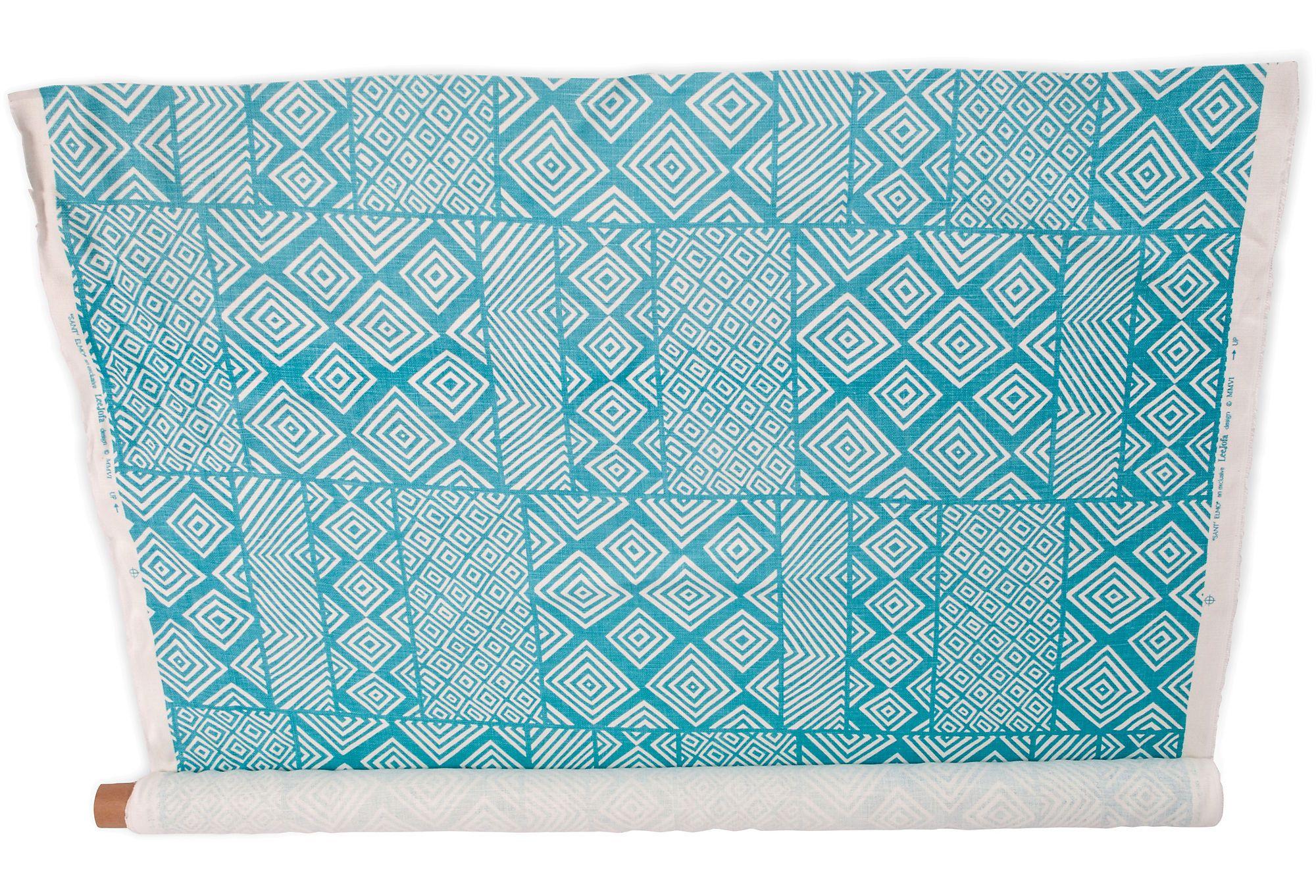 One Kings Lane - Kriste Michelini Interiors - Aztec Fabric, 3 Yards