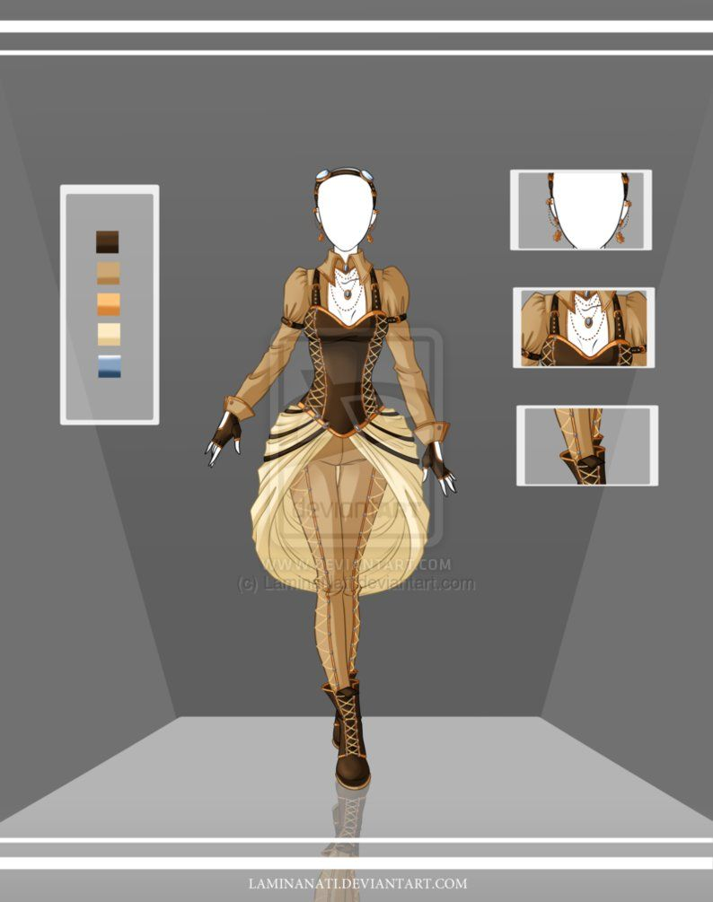 [Adoptable Outfit Auction 35(closed) by LaminaNati on DeviantArt] | Steampunk | Pinterest ...