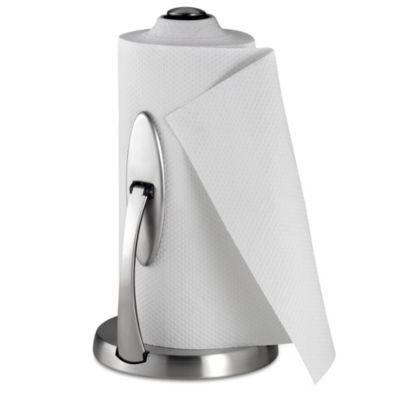 Bed Bath And Beyond Paper Towel Holder Enchanting OXO Good GripsOneHanded Simply Tear Paper Towel Holder BedBat