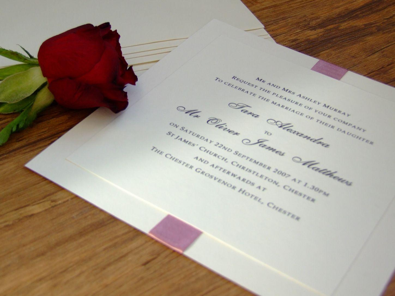 the designs of classic wedding invitations wedding beauty classic ...