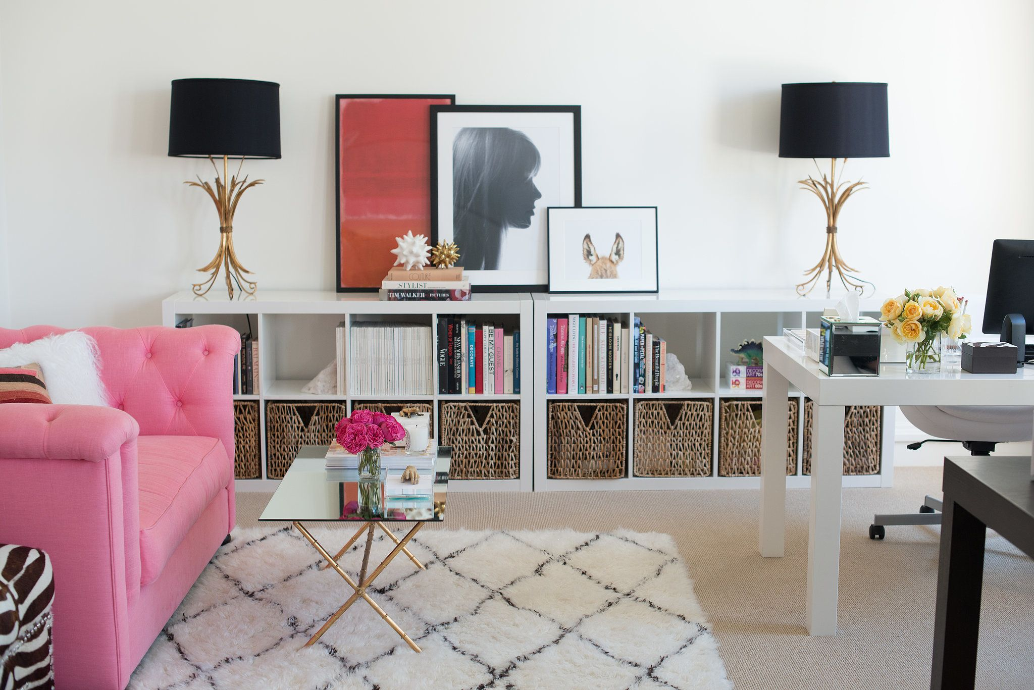 Inside This Pr Maven S Stylish Office Stylish Office Space Home