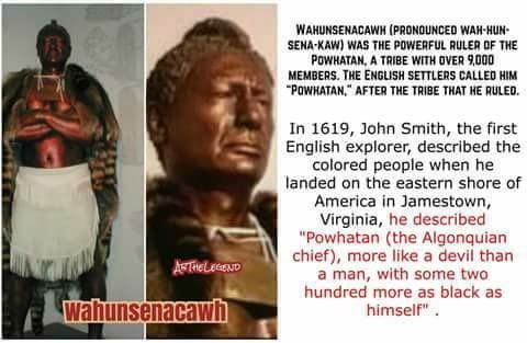 Image result for Chief Powhatan black