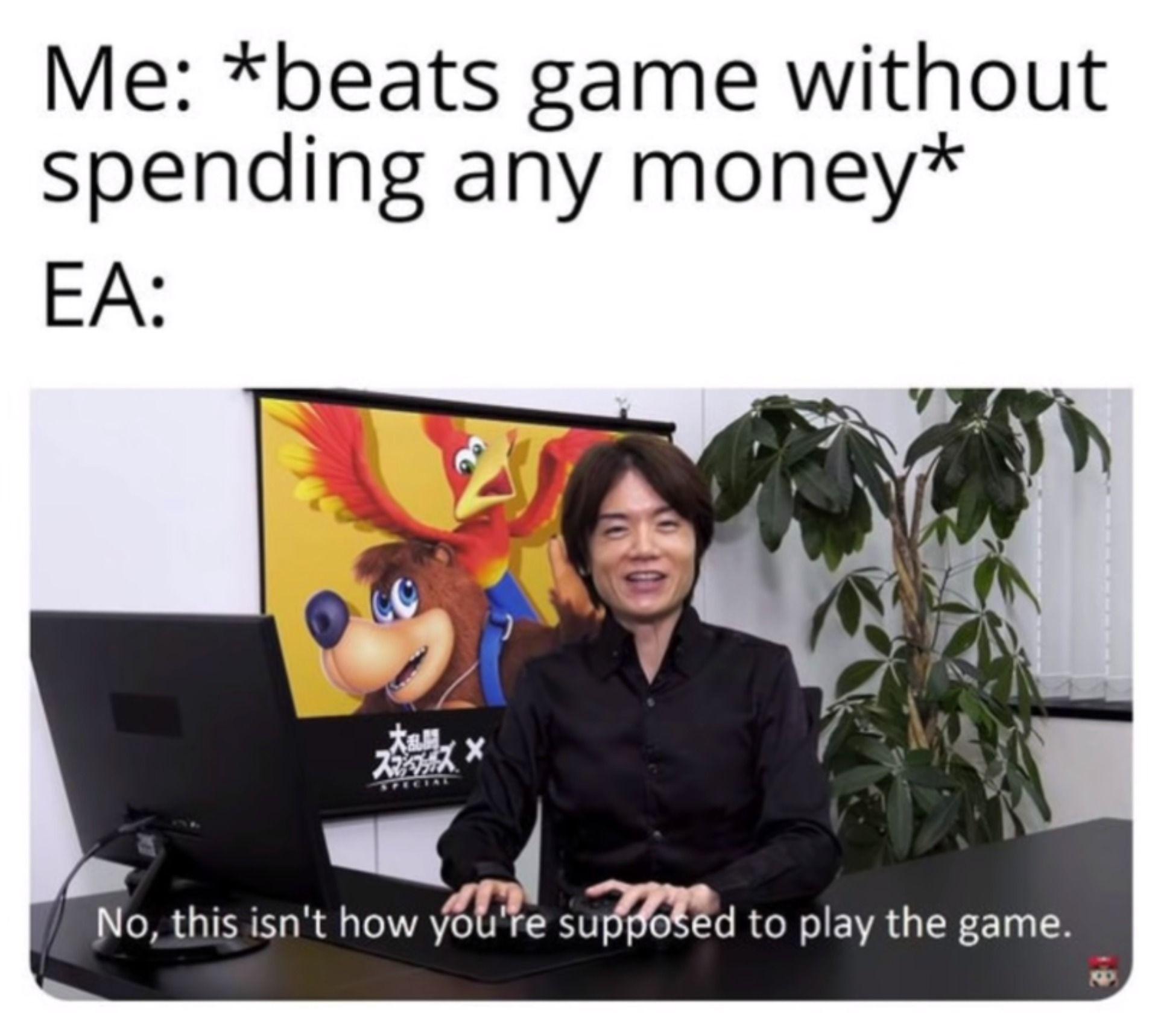 Nobody Me Meme Template