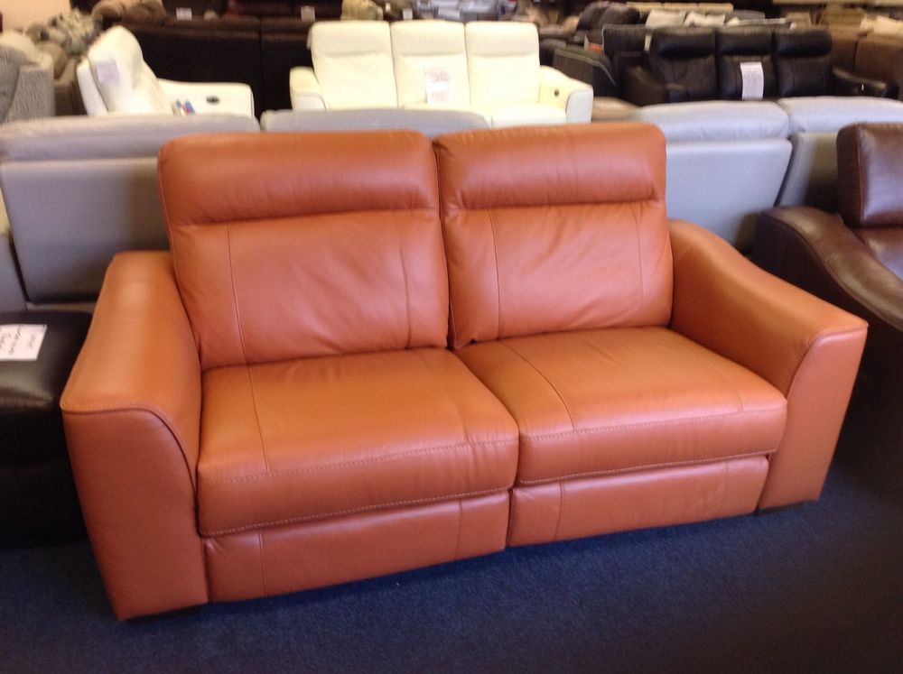Ex Furniture Village Paloma Orange Leather Manual