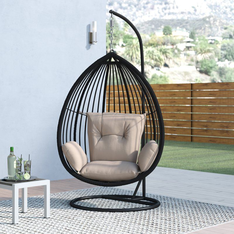 Audra Swing Chair with Stand in 2020 Hanging swing chair