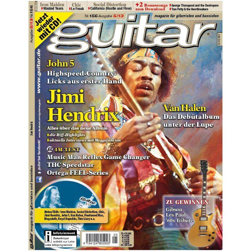 guitar Ausgabe 5/2013 | PPVMEDIEN, 5,90 €