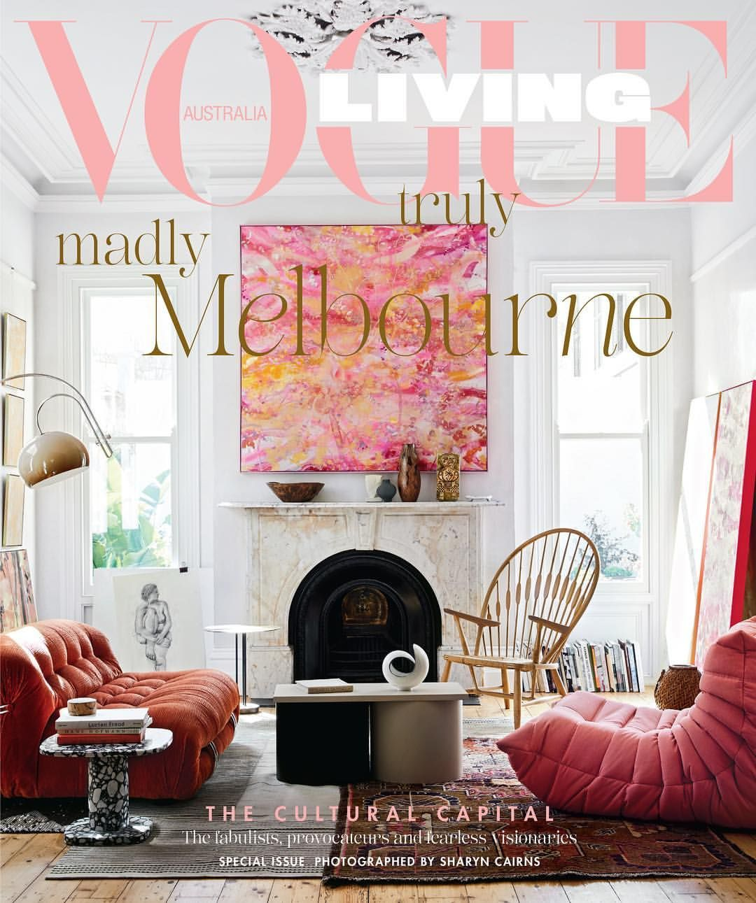 On sale today the novemberdecember issue of vogue living is a