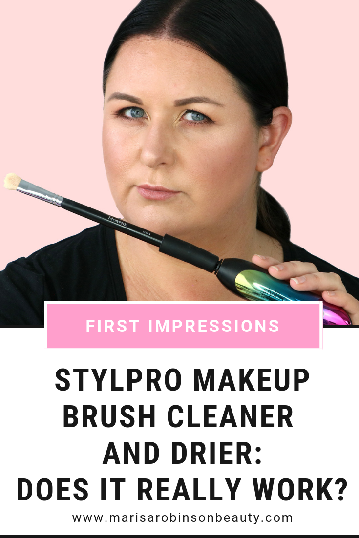 StylPro Makeup Brush Cleaner Review Does it really work