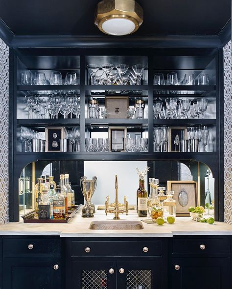 Niles Flush Mount Modern Home Bar Home Bar Decor Home Bar Designs