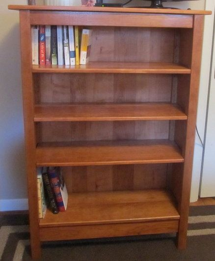 bookshelf avalon bliss living tall cherry