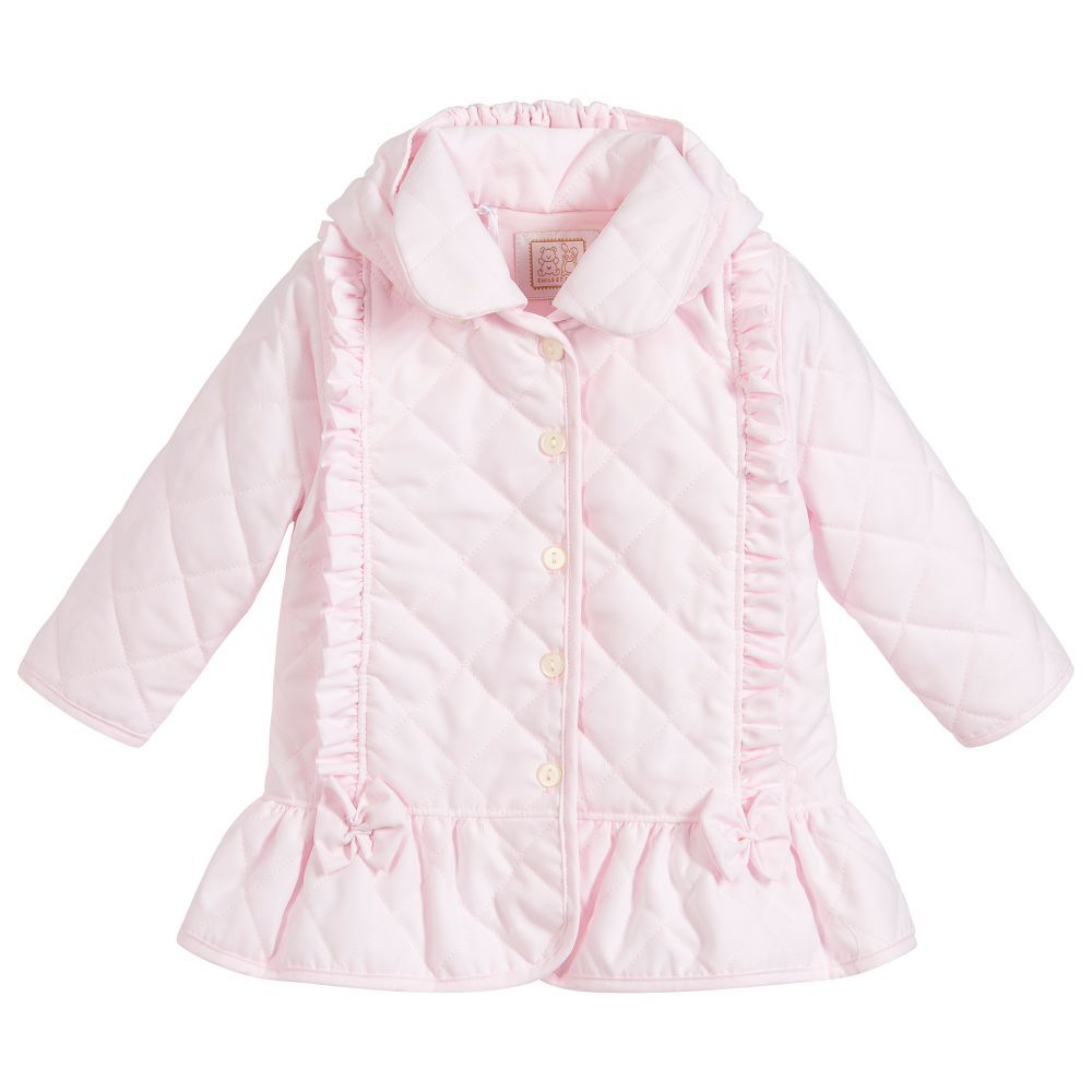2580befd8 Baby girls pink padded coat by Emile et Rose
