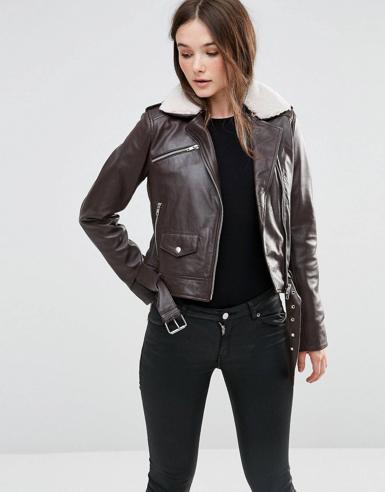LOVE this from ASOS! Jackets for women, Vegan leather