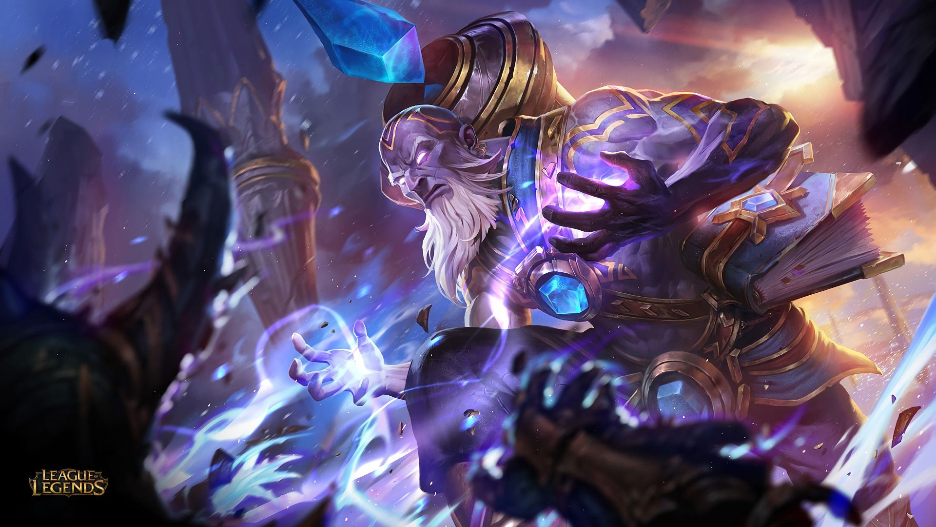 Download Wallpaper Triumphant Ryze Skin Full Hd On Gamewalls