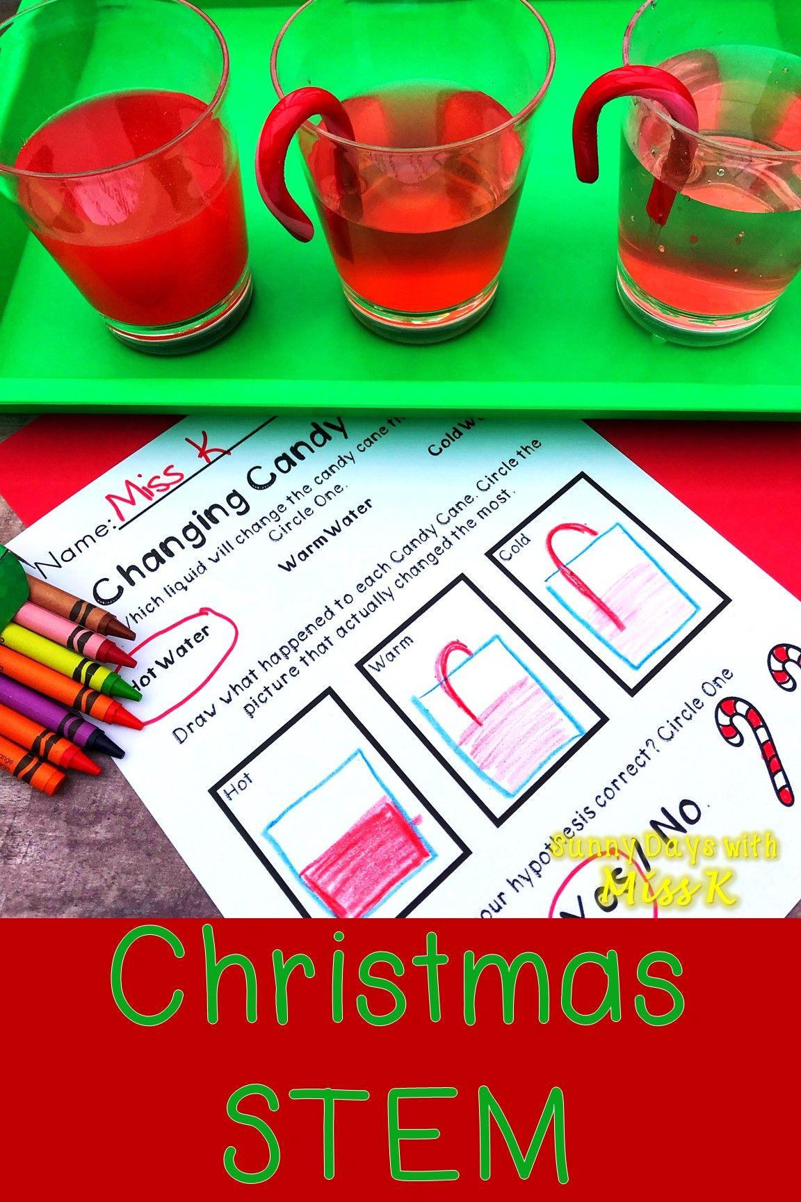 Christmas Science Christmas Investigation Christmas