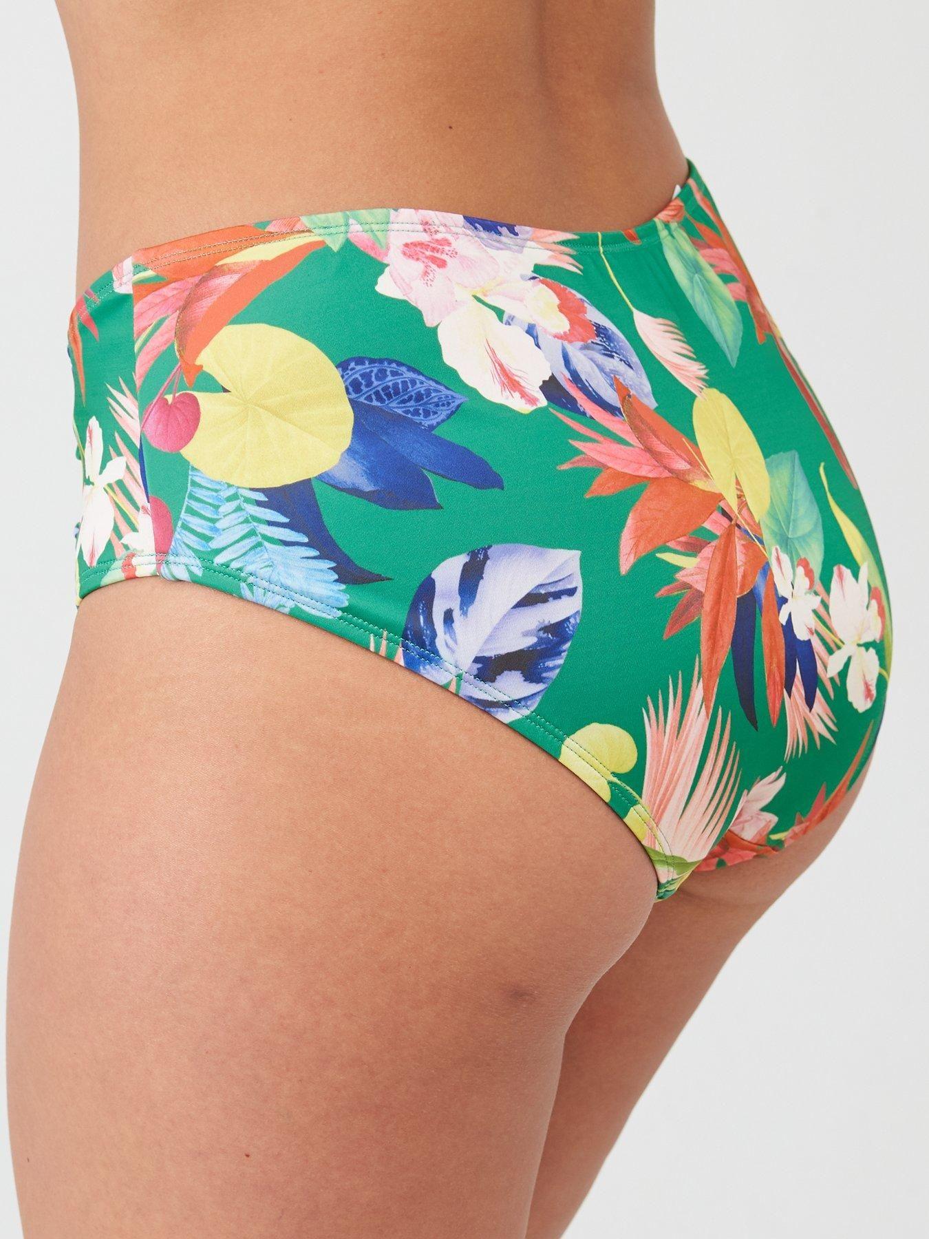 Dorina Merida Tummy Control High Leg Hipster Brief – Green, Green, Size 16, Women – Green – 16