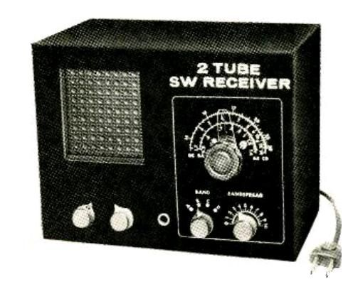 1966 Two Tube Regen Onetuberadio Com Radio Design Shortwave
