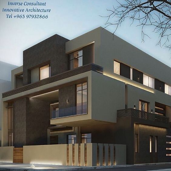 Modern Residential Exterior By Ar Sagar Morkhade: Épinglé Par Touba Sur 15x10