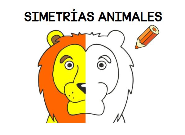 Trabajamos La Lateralidad Con Etas Fichas De Simetricos De Animales Orientacion Andujar Fichas Fichas De Animales Dibujo De Escuela