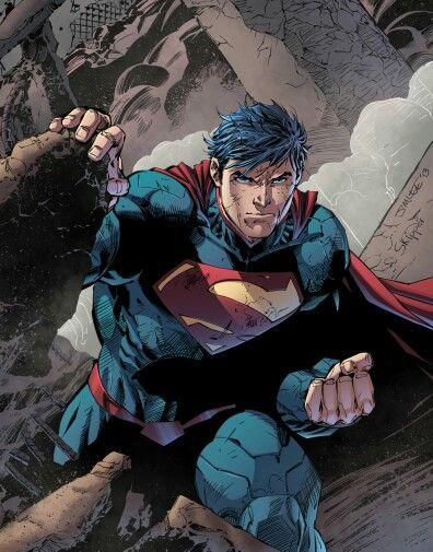 Super Man by Jim Lee
