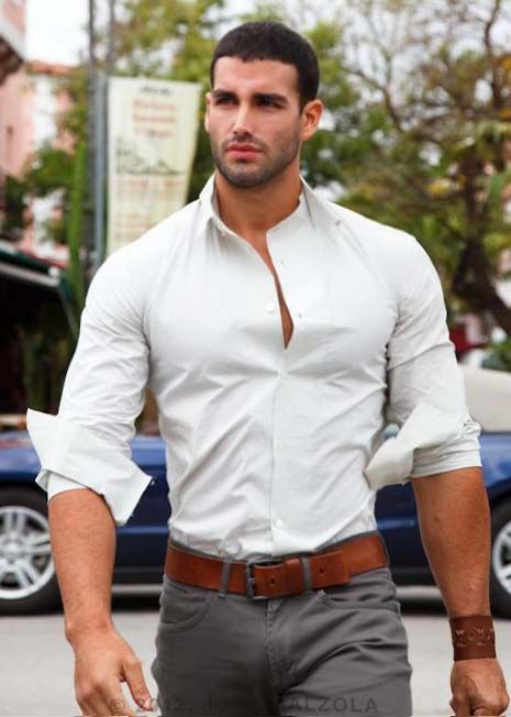 hot athletic fit men 39 s jewellery mensfashion ForDress Shirts For Athletic Guys