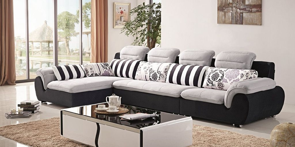 L Shape Fabric Sofa Set Wayfair Living Room Sets Colorful Sofa