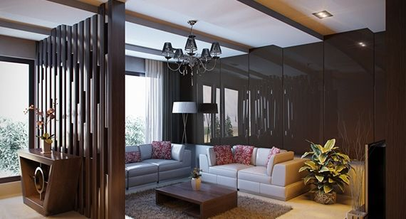 Ideas de separadores de ambientes para la sala de estar i like it pinterest separadores - Separadores de ambientes originales ...