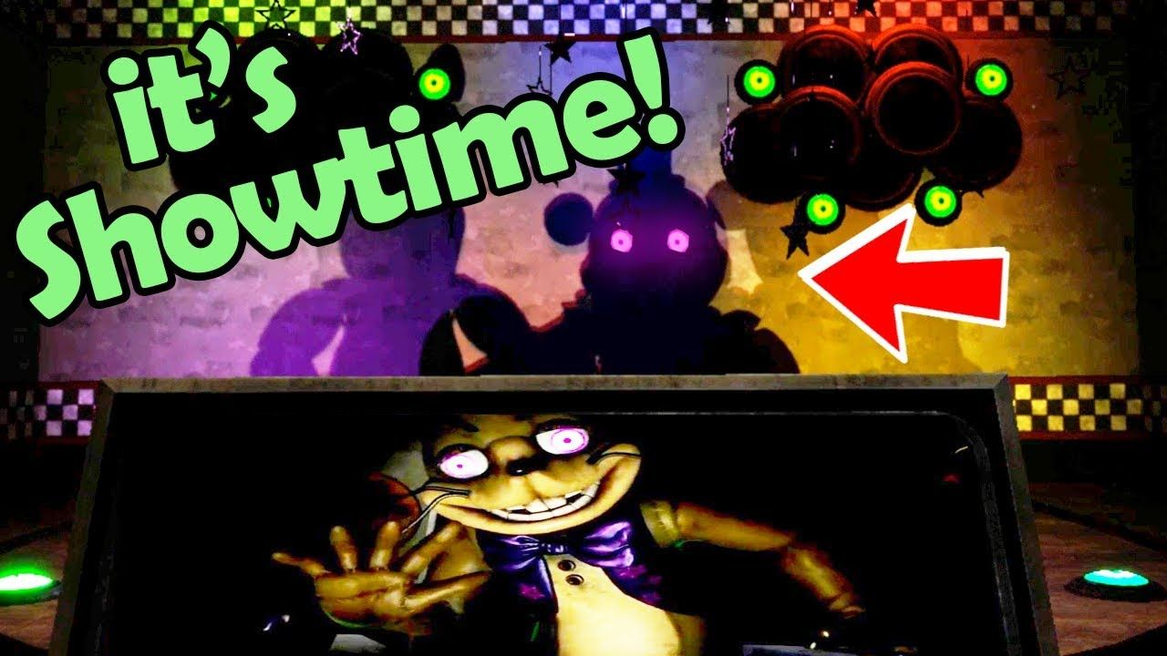 Fnaf Vr Shadow Animatronic Show I M Crying Five Nights At