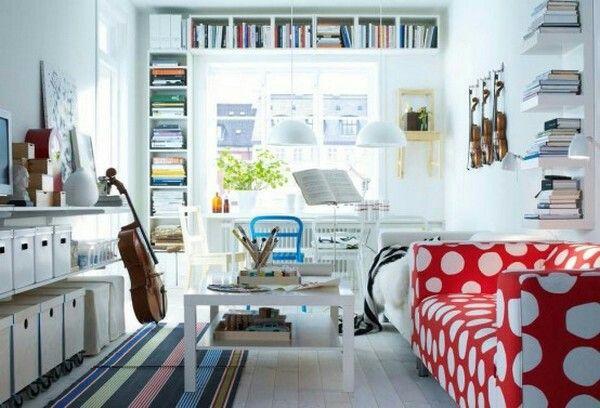 ccdad184 Espacios pequeños pero cómodos y con mucho estilo | Happy Home ...