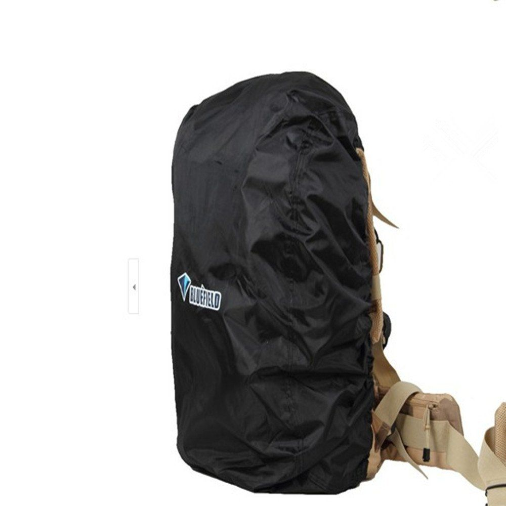 d242ad19d06c Amazon.com   KLOUD CityBlack nylon backpack rain cover for hiking   camping    traveling (Size  M)   Outdoor Backpack Covers   Sports   Outdoors