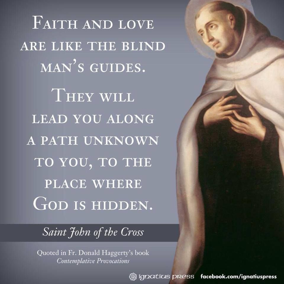 St John Of The Cross Quotes Stjohn Of The Cross  Catholic Saints  Pinterest  Saints
