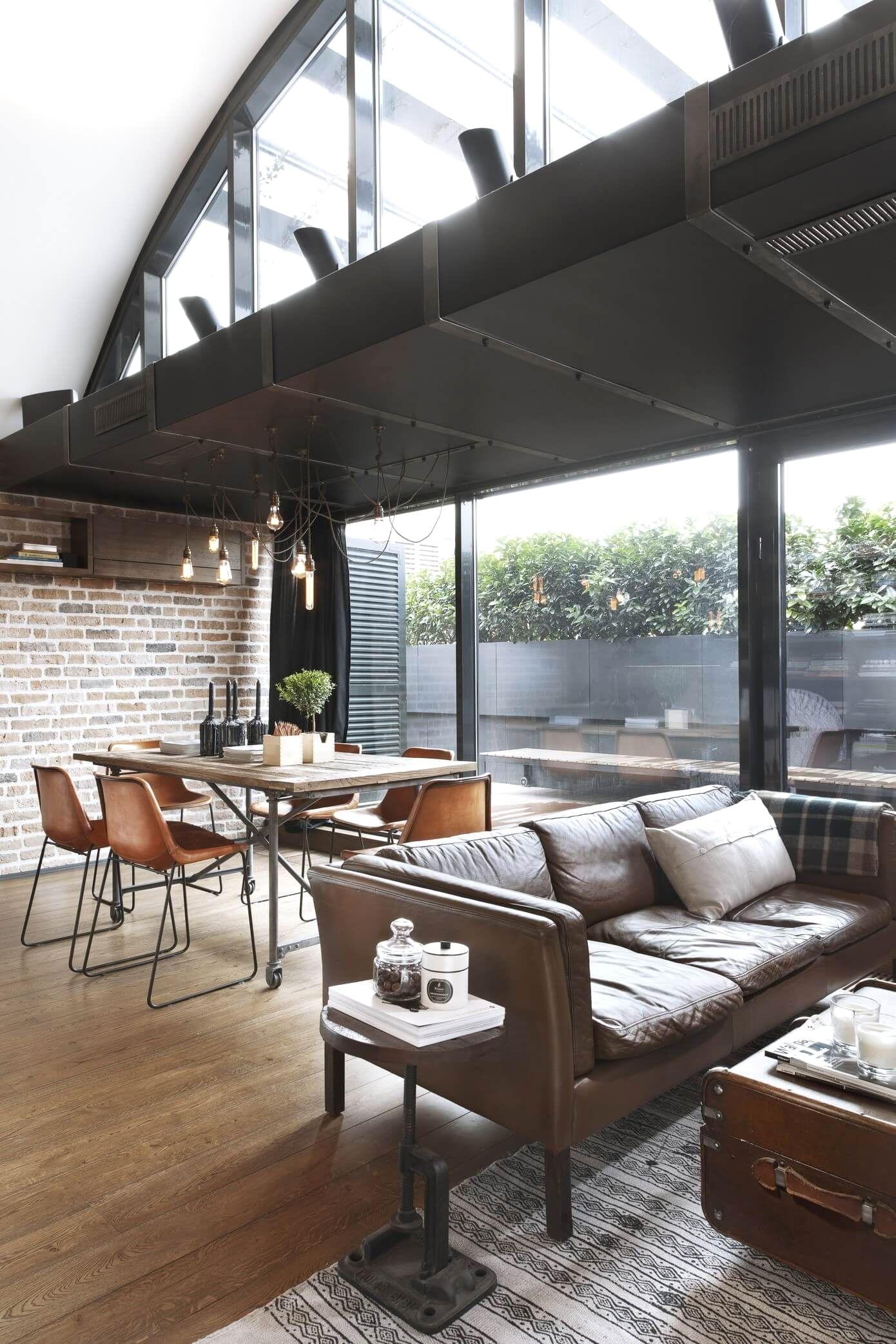 12 Easy Industrial Decor Ideas For Your Urban Loft Industrial
