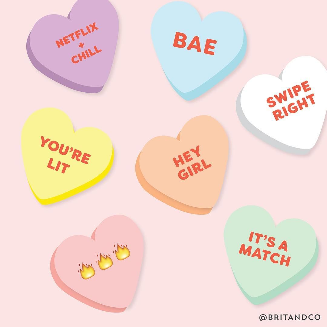 Make This Conversation Hearts Dress For Your Galentine S Day Party Valentine Candy Hearts Valentine Candy Valentine Stickers