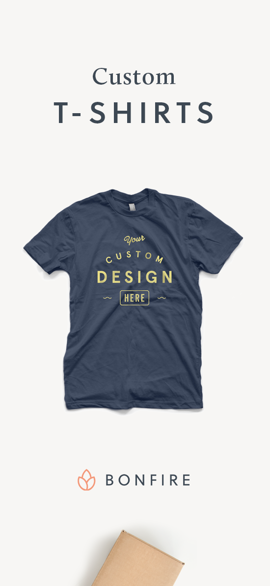 9b51cf1d47a Order premium custom t-shirts that are printed on demand. Create your own  design
