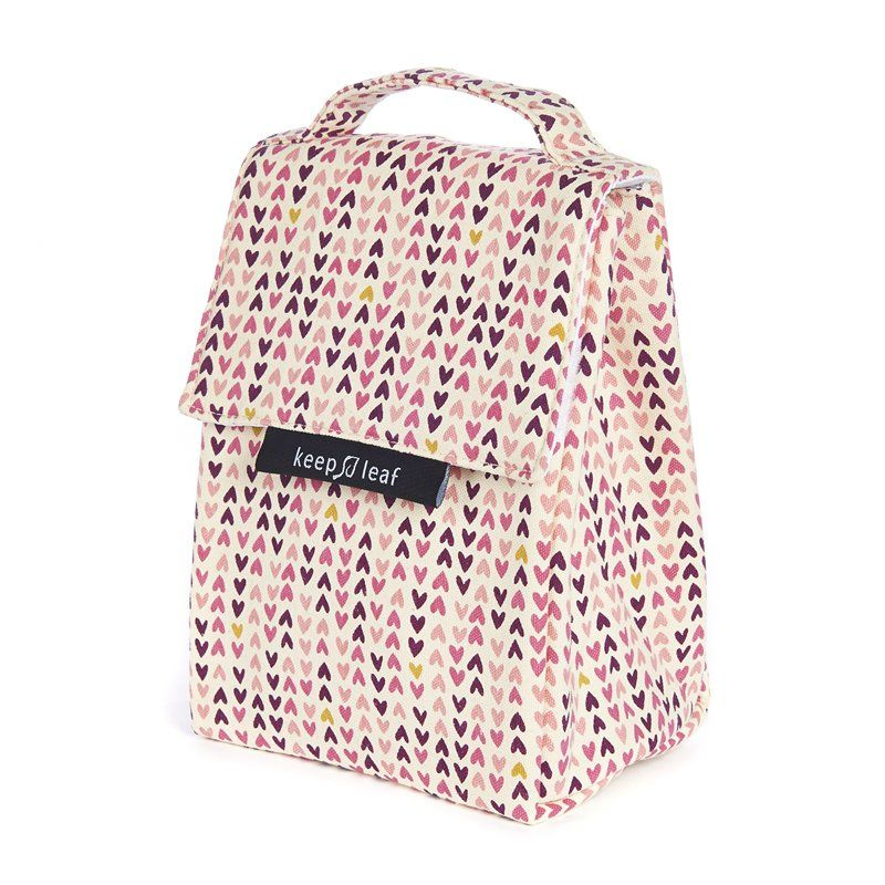 Keep Leaf Lunch Bag Insulated - Hearts by Keep Leaf | Toys | chapters.indigo.ca