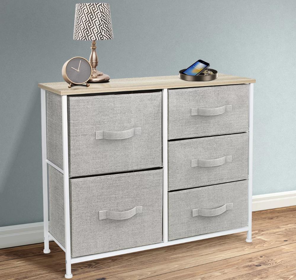 Ebern Designs Corin 5 Drawer Dresser Reviews Wayfair Storage Furniture Dresser In Living Room Dresser Drawers [ 946 x 1000 Pixel ]